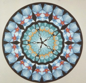 295 - Caleidoscope-series  IX - Arabic 55  [60x60]
